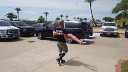 Starky carries Marky